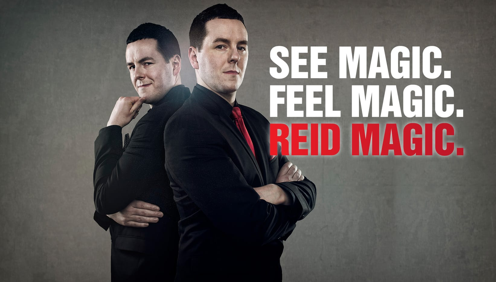 SEE MAGIC, FEEL MAGIC, REID MAGIC